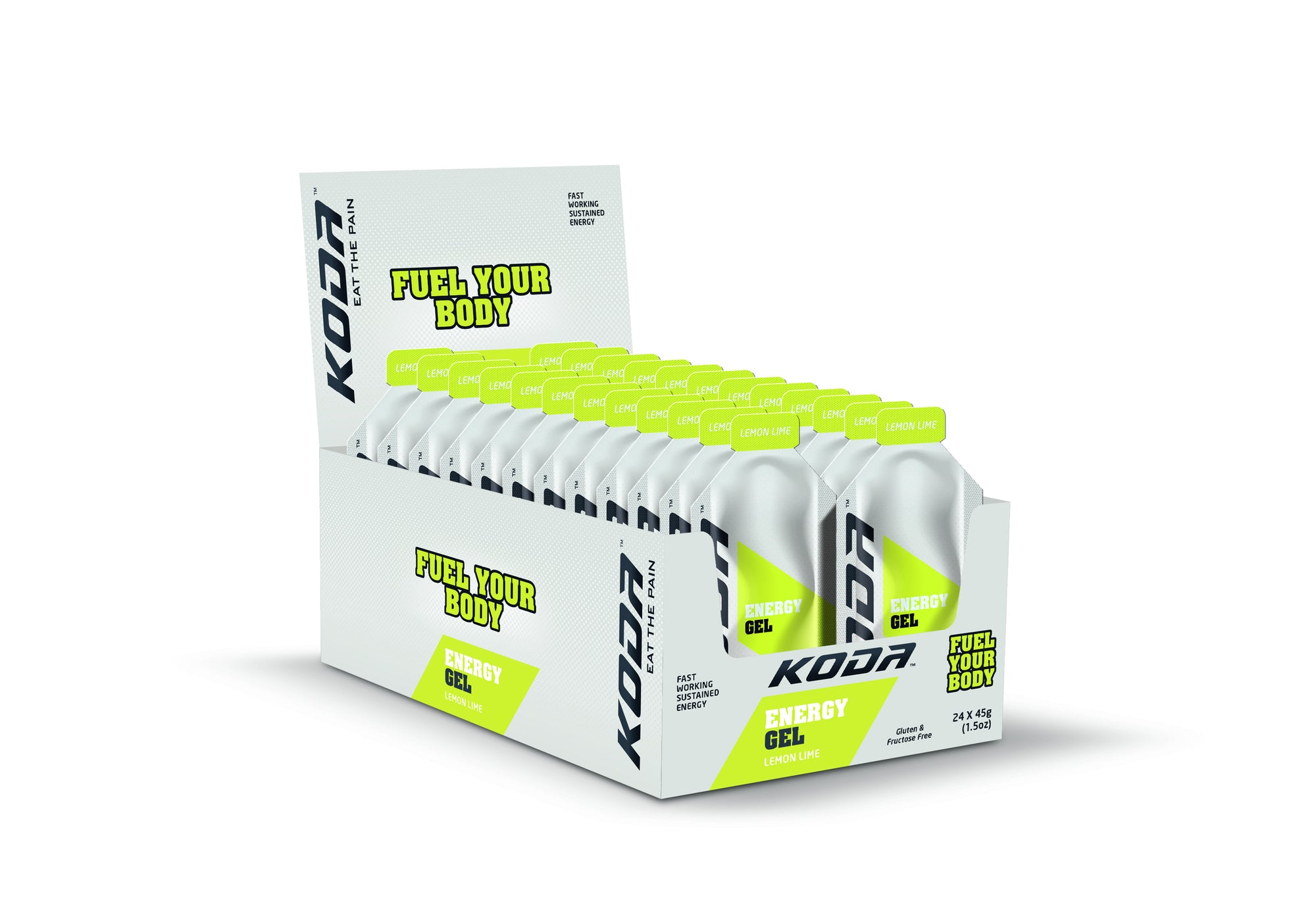 Energy Gels 24 Pack Lemon Lime