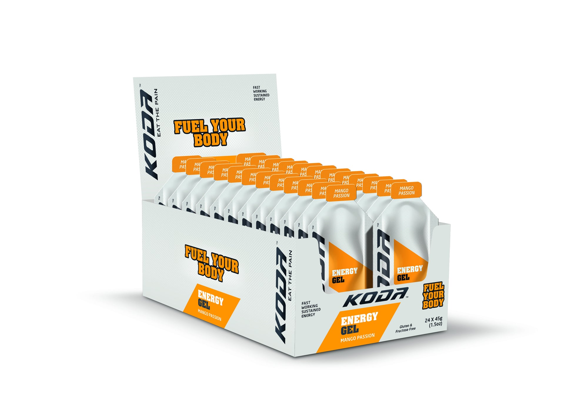 Energy Gels 24 Pack Mango Passion