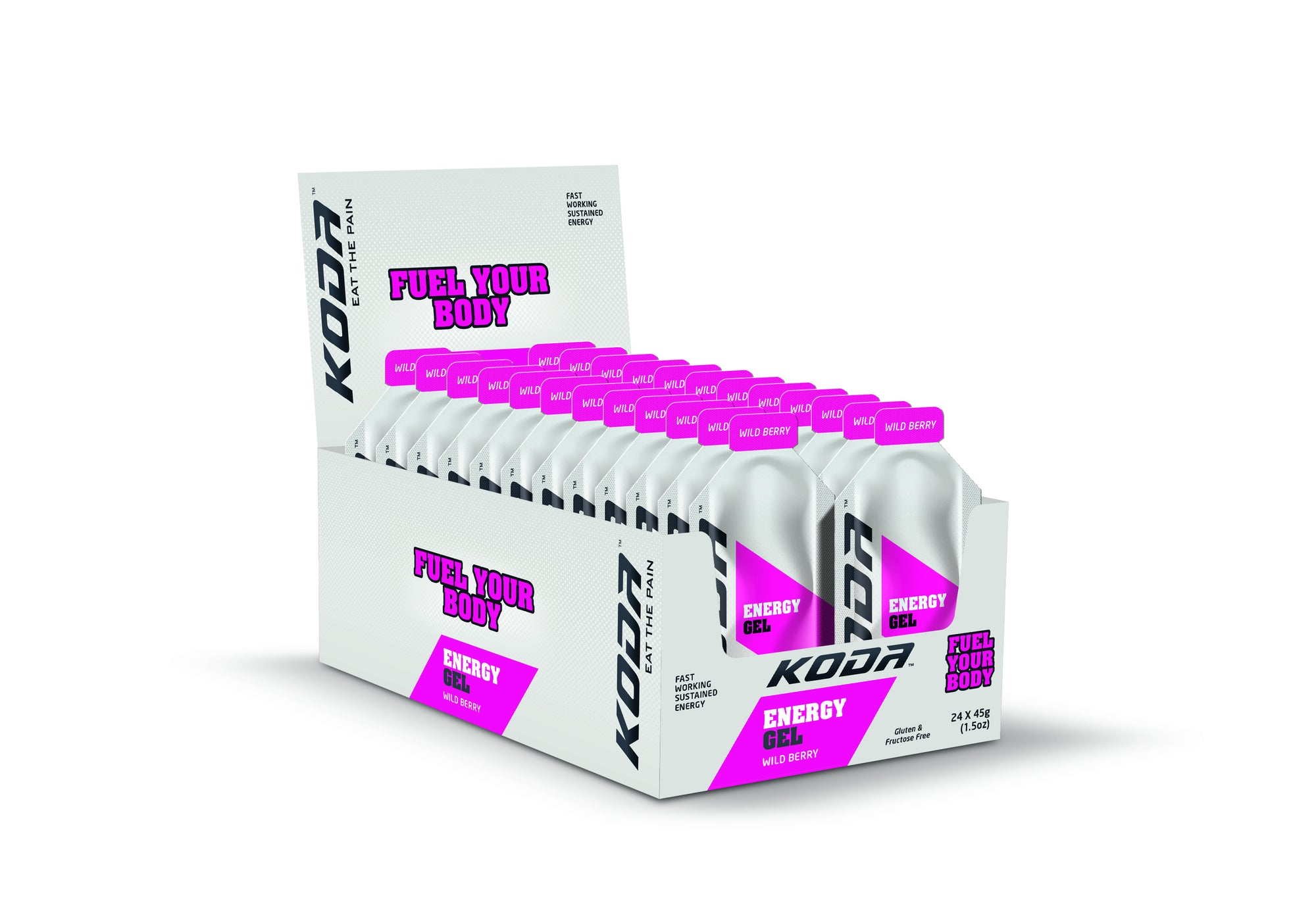 Energy Gels 24 Pack Wild Berry