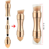 4 In 1 Makeup Brushes Foundation Eyebrow