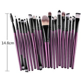 20 Pcs/Set Makeup Brushes Set Eye