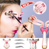 1x Adjustable Eyebrow Shaper Makeup Eyebrow
