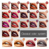 21 Color Women Fashion Matte Liquid Lipstick