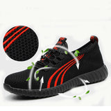 Men's Breathable Work Safety Shoes