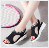 Platform Sandals Shoes Woman
