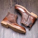 Hight End Boots Men Winter Shoes