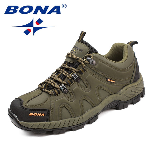 BONA Classics Style Men Hiking Shoes