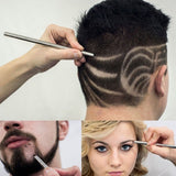 Magic engrave beard hair
