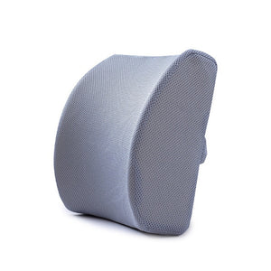 Soft Memory Foam Lumbar Support Breathable Healthcare Back Waist Seat Cushion Travel Pillow Car Home Office Pillows Relieve Pain