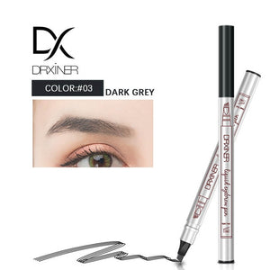 4 Colors 4 Head Eyebrow Marker