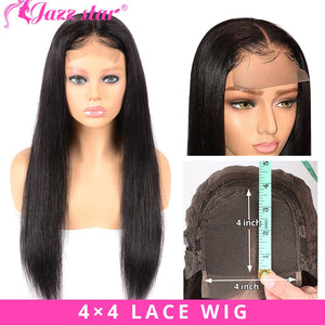 Brazilian 4*4 Lace Closure Wig