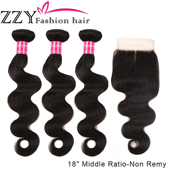 ZZY Fashion Hair Brazilian Body Wave