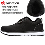 MODYF Men's Safety Shoes Breathable Steel Toe