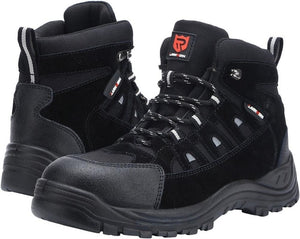 LARNMERN Men's Work Safety Boots