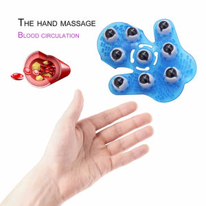 new Roller Ball Body Massage Glove Anti-Cellulite Muscle Pain Relief Octopus Massager For Neck Back Head Massager Tools