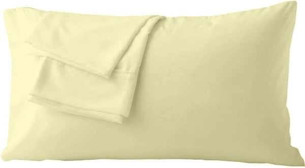 Global Linens Premium Microfiber Pillow Cases King Size Set of 2 - Premium, Soft, Easy-Wash Pillow Protectors - Envelope Closure End - Easy On/Off and Stain, Wrinkle Resistant (Solid Hot Pink)