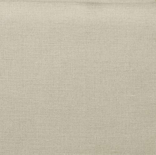 Solino Home Linen Pillow Cover – Decorative Throw Pillow Cover, 100% Pure Linen Cushion Case - 18 x 18 Inch, Set of 2 -  White