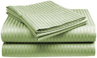 Queen Size 4 Pc Bedding Set - 1800 Series Hypoallergenic Wrinkle Free Bed Linens with Brushed Luxury Microfiber | Includes 2 Pillows|1 Fitted|1 Flat Bed Sheet (Egyptian Quality Collection) - Sage
