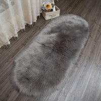 Kitchen Gadgets,Soft Rug Chair Cover Artificial Sheepskin Wool Warm Hairy Carpet Seat Mats Rug Faux Wool Bay Window,The Carpet