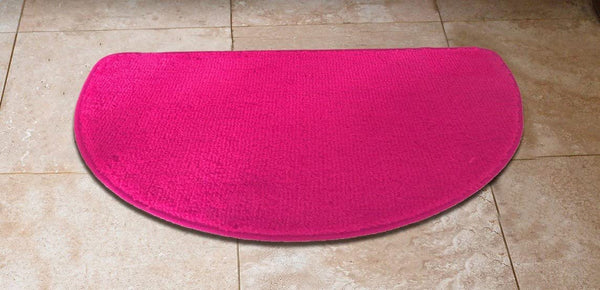 "1 Piece Premium Slice Luxury Acrylic Rug 18""x""30 Inch Made with 100% Polypropylene. (Hot Pink)"