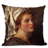 Neoclassicism Home Decorative Napoleon Oil Painting Sofa Throw Pillow Case Rome Spartacus Jacques Luis David Art Cushion Cover