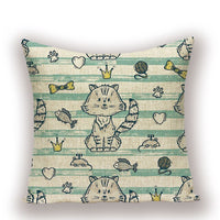 Custom Animal Throw Pillowcase Tiger Alpaca Cushion Covers Decorative High Quality Cute Koala Cushions Home Decoration