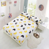 Cotton Bed Sheet with Elastic Rubber Fitted Sheet Bed Linens Deep Pocket  Twin Queen Double Sinlge Ruissian Size 160X200cm 36