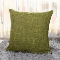 1Pcs 40*40cm Linen Throw Cushion Cover Home Decoration Sofa Bed Decor Decorative Pillowcase Pillow Cover 40396