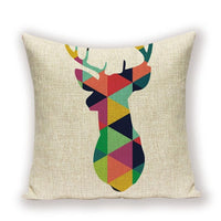 Nordic Decorative Pillows Geometric Animal Cushions Home Decor Flamingo Pineapple Scandinavian Style Cojin Nordic Cushion Cover