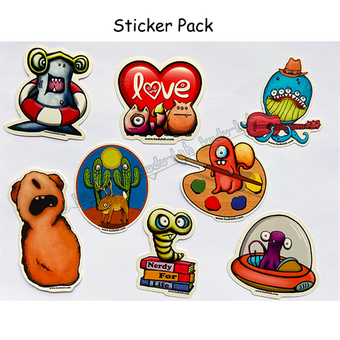 STICKER PACK / ALL 8