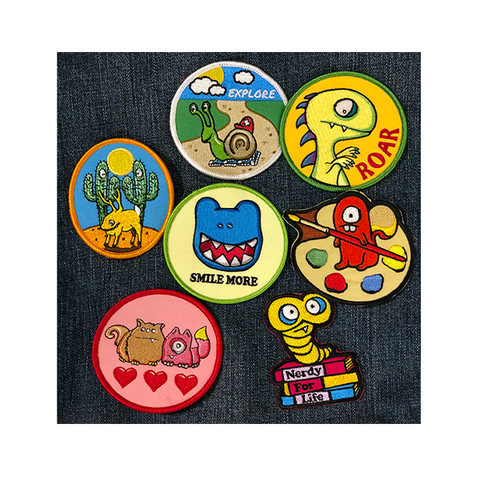 All 7 patches!