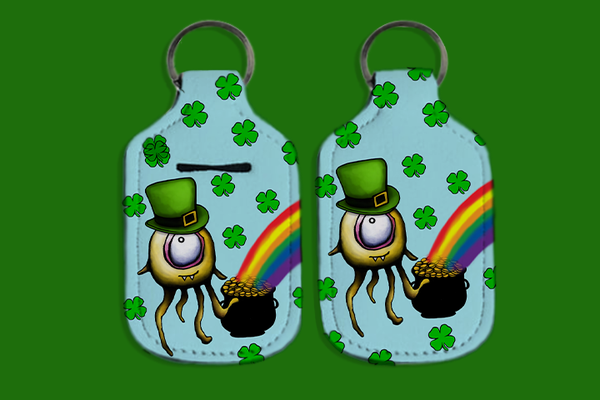 Sanitizer Holder, Pot of Gold