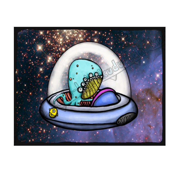 Quadropus Spaceship - Collect all 12