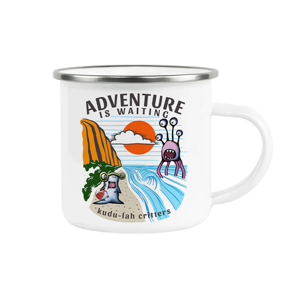 Camp Mug, Adventure is Waiting