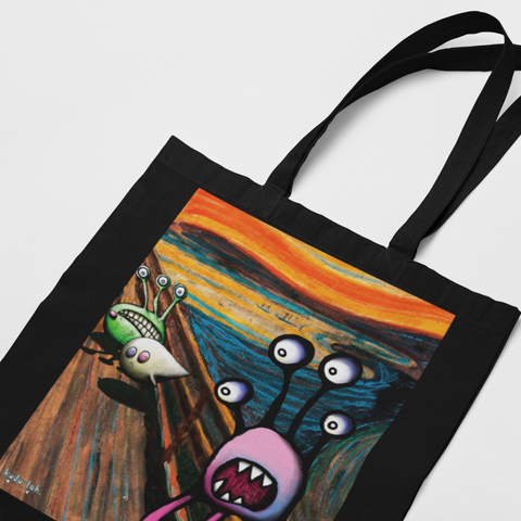 Tote, Scream in Black