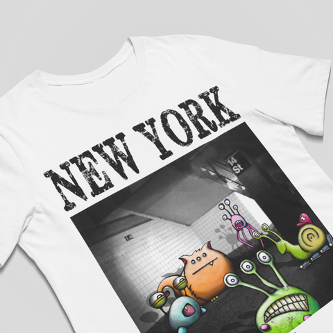 New York 14th Street Unisex Tee