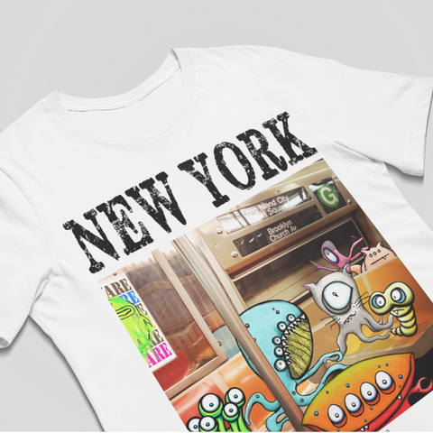 New York Subway Love Unisex Tee