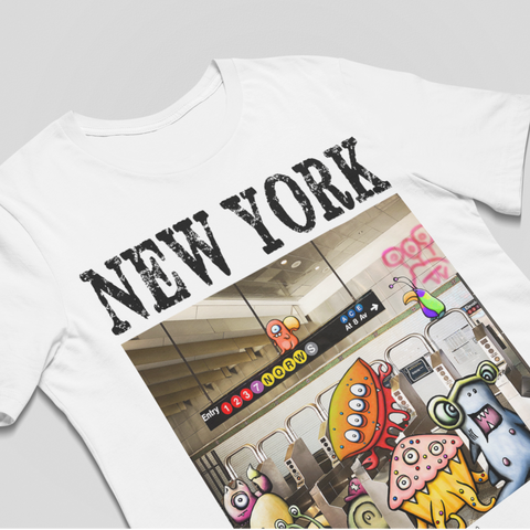 New York Turnstile Unisex Tee