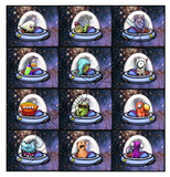 Boo-Scare Spaceship - Collect all 12