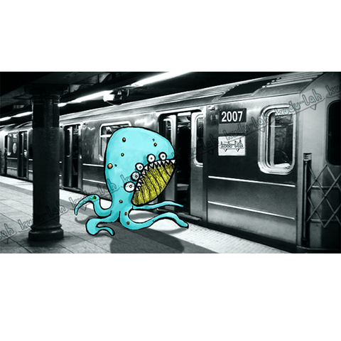 Runnin' for the Train - Quadropus - kudu-lah