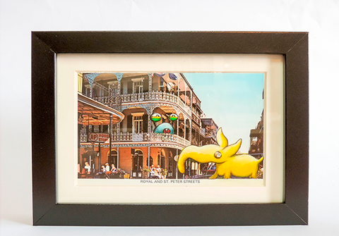 Postcard Painting - New Orleans - kudu-lah