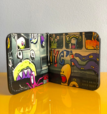 Artist Edition. Local Train Wallet, Limited Edition of 5!