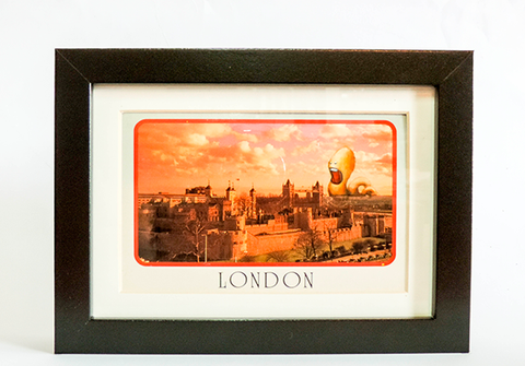 Postcard Painting - London - kudu-lah