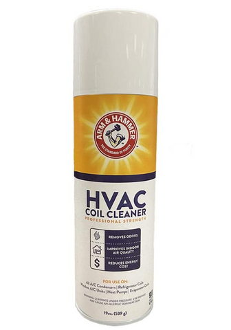 Arm and Hammer Biodegradable Aerosol Air Conditioner Spray, 19 fl. oz. Coil Cleaner, AHCC-19 Fluid Ounces by Diversitech