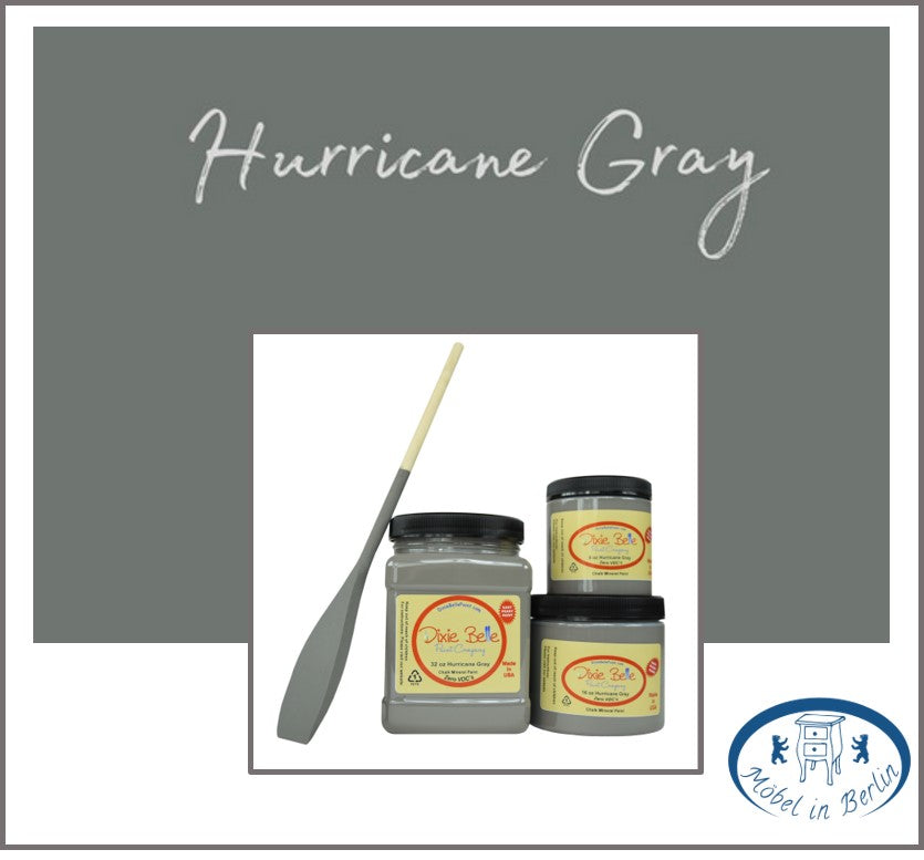 Dixie Belle Kreidefarbe in Hurricane Gray (Grau)