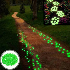 Glow In The Dark Garden Stones