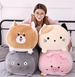 SOFT SQUISHY ANIMAL CARTOON STUFFED TOYS
