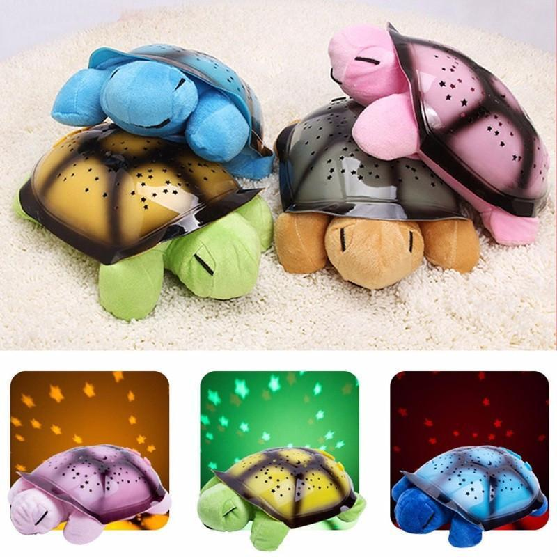 Turtle LED Lamp Stars Light - WikiWii