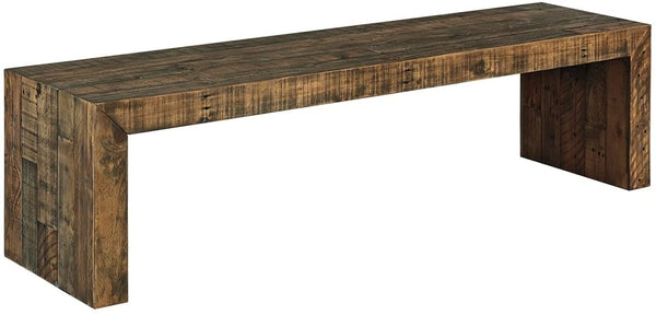 Signature Design By Ashley - Sommerford Large Dining Room Bench - Casual Style - Brown