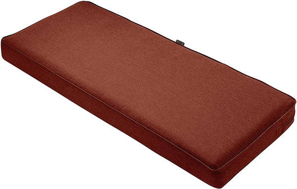 "Classic Accessories Montlake Patio FadeSafe Bench Cushion, Beige, 54""Wx18""Dx3""T"